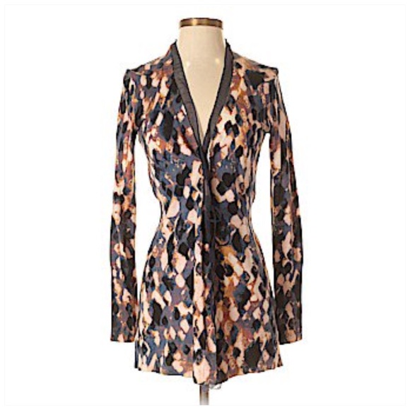 Simply Vera Vera Wang Sweaters - Simply Vera Wang Patterned Cardigan XS